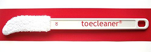 From 4.95:The New Toe Cleaner- Long Handled Toe Towel Cleaner Bathroom Aid Designed To Clean Dry Exfoliate Between All Your Toes Removing Dead Skin And Germs Which Cause Fungal Infections In Toenails (discoloured Nails) And Skin (athlete's Foot) Designed By A Podiatrist