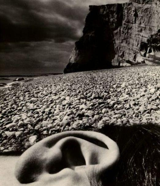Bill Brandt (1904 - 1983) - Nude, Seaford, East Sussex Coast, 1957