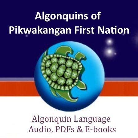 Algonquin Language Online - Audio, PDF (text files) & E-books