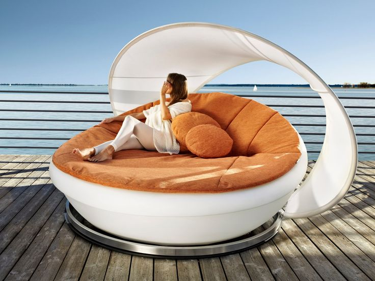 Nice Round Daybed LAGOON By Solpuri Design Klaus Nolting · Bed InOutdoor ... Idea