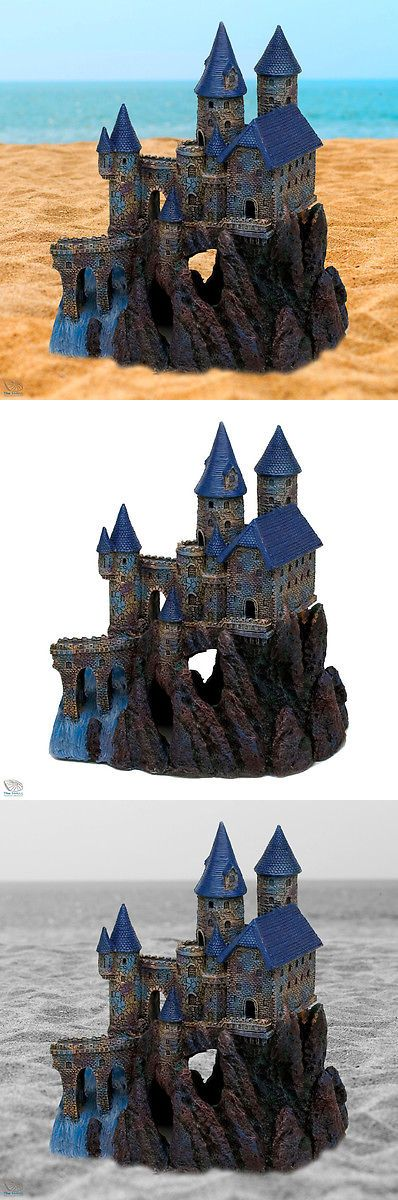 Decorations 66789: Medieval Castle Aquarium Ornament Fantasy Mystical Age Large Fish Tank Decor -> BUY IT NOW ONLY: $57.41 on eBay!