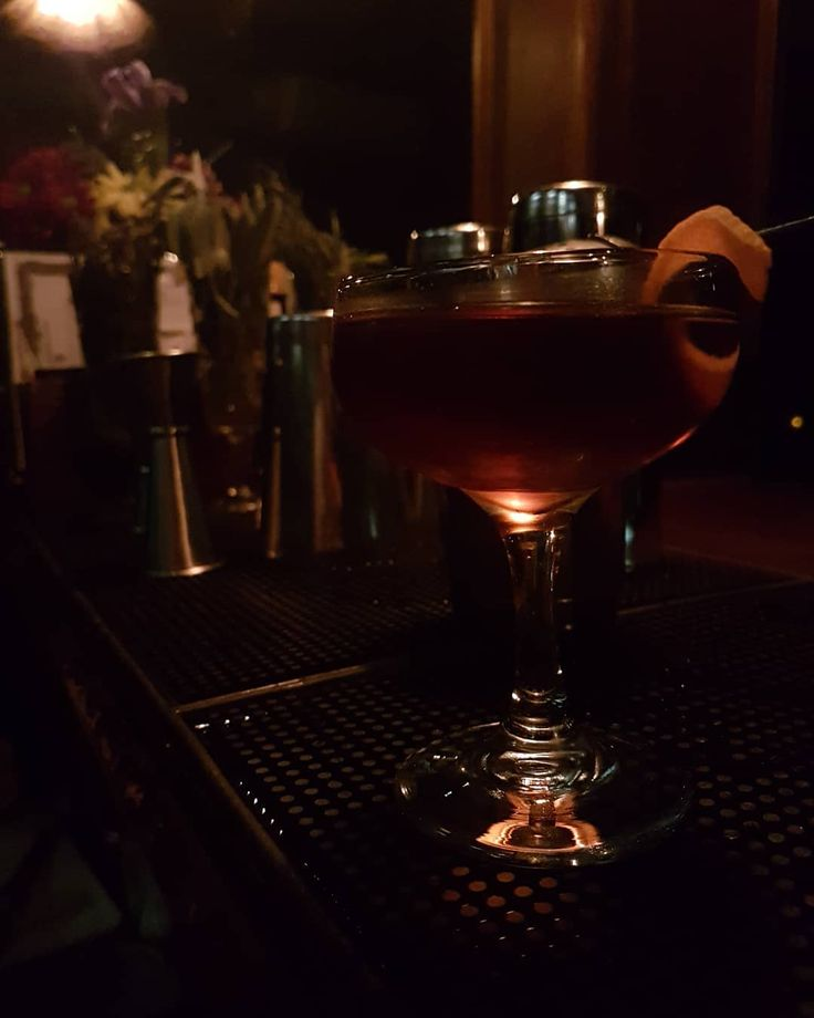 """So this week is my last at The Maven so as one of my last few posts here's the Vieux Carré.  It's one of my favourite late evening tipples consisting of Cognac (and in this case) Scotch and sweet vermouth. The drink hails all the way from New Orleans in 1938 inspired by the French quarter over there. Translated the phrase means """"Old Square"""" and I'll hopefully be seeing off my final shift on Saturday with one of these in hand!  Come down and help me say Au Revoir to the venue that taught me…"""