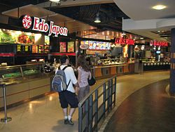 Food court - Wikipedia, the free encyclopedia