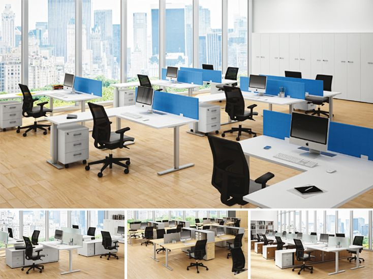 1000 images about muebles de oficina on pinterest mesas for Muebles oficina mesas