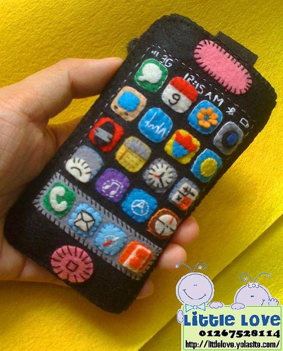 Handmade cellphone case. So cute!i