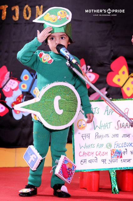 A mesmerizing fancy dress competition was organized at Mother's pride school where our Prideens performed really well.