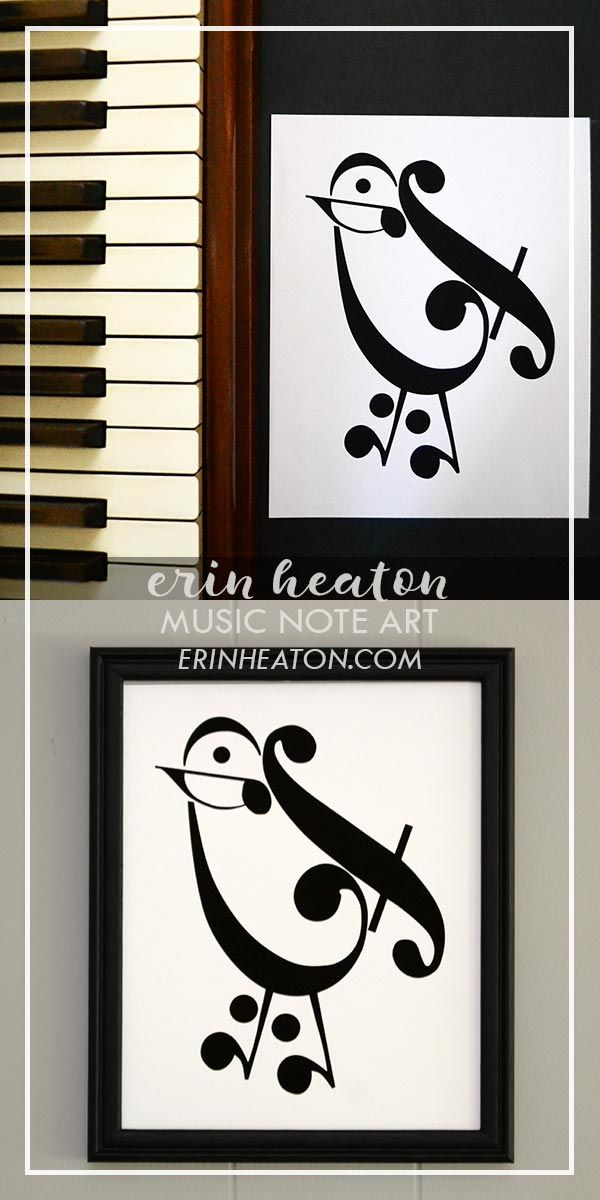 5feb86753b2 Bird Music Art Print in 2018