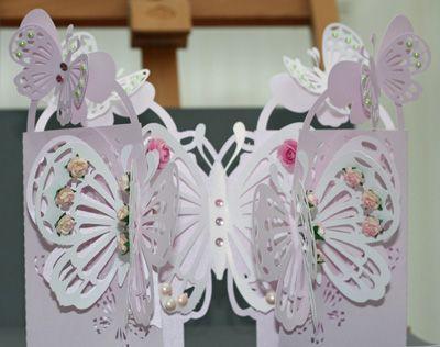 Craft Robo Gsd File Template Butterfly Door Card