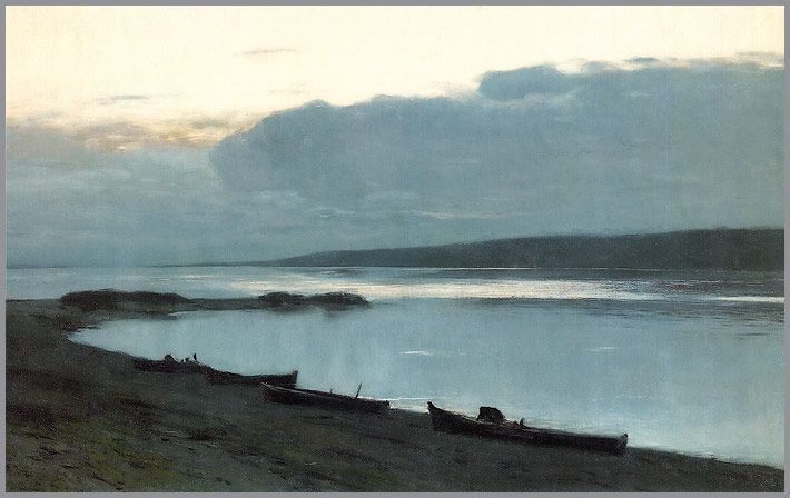 Russian Art: Isaak Levitan   I love his work, great talent, died young