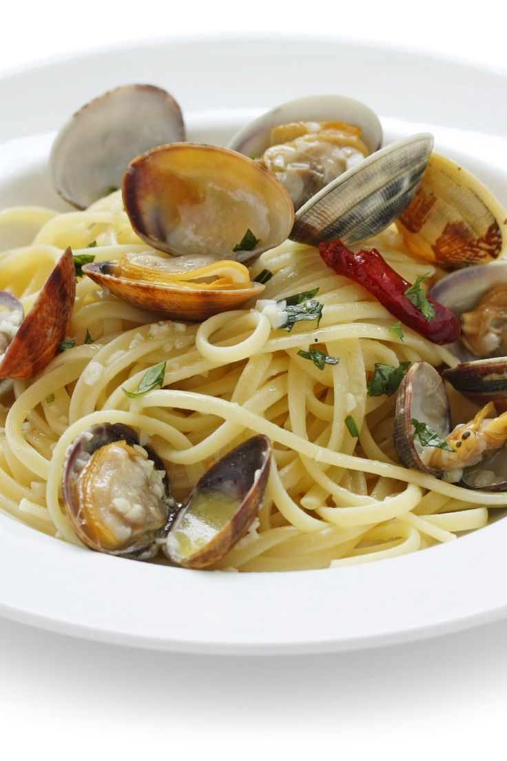 Italian Food ~ Linguine with White Clam Sauce Recipe
