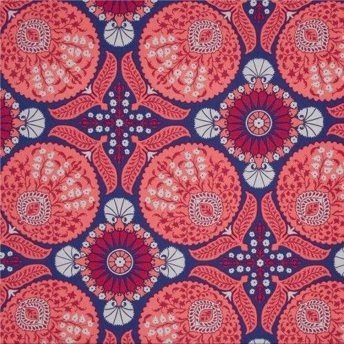 bavlněné plátno Bazzar in Orchid, Joel Dewberry - VierMa
