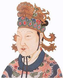 Wu Zetian was the only #woman in the history of #China to assume the title of Empress Regnant. As de facto ruler of China first through her husband and her sons from 665 to 690, not unprecedented in Chinese history, she then broke all precedents when she founded her own dynasty in 690, the Zhou (interrupting the Tang Dynasty), and ruled personally under the name Sacred and Divine Empress Regnant and variations thereof from 690 to 705.