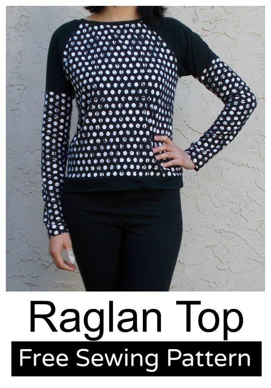 Raglan Top , Free Pattern and tutorial
