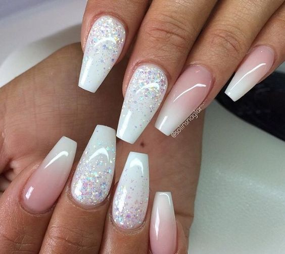 Square Tip Stiletto Nails