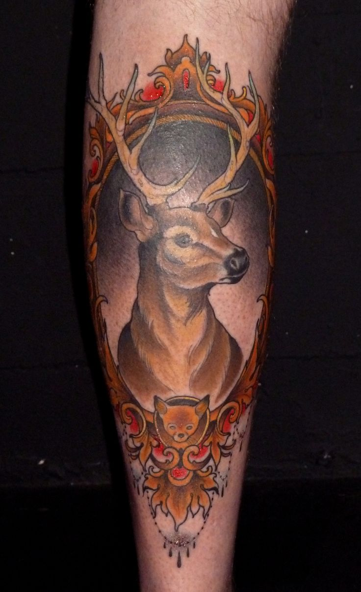 Camo buck commander tattoo the image for Buck commander tattoo