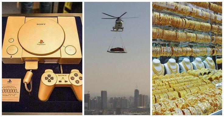 En Dubai los magnates y los jeques árabes tienen tanto dinero que no saben ni en que gastarlo, un gran problema que la mayoría de todos nosotros quisiéramos poder tener aun que sea un día de nuestra vida. Jamás podríamos imaginar las cantidades de dinero que tienen estos hombres hasta que vemos estas fotografías que nos harán decir ¡WTF!