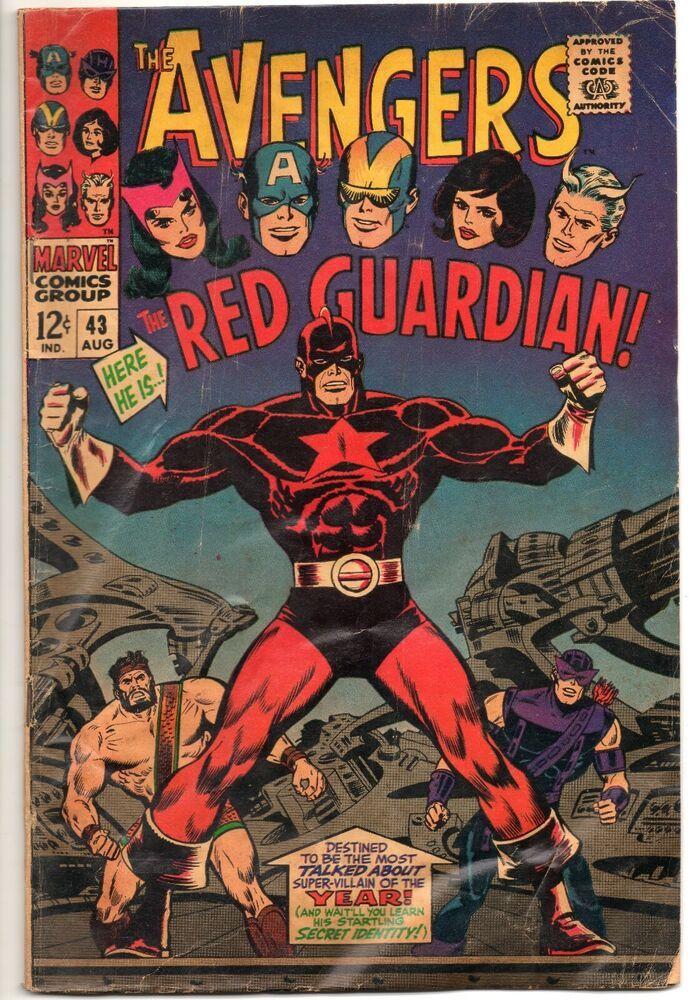 Avengers 43 / 1st App Red Guardian / Marvel Comics