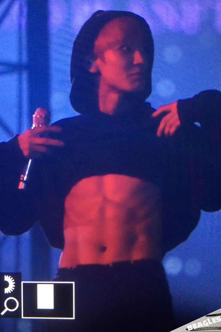 ABS de Monstro - Chanyeol no EXO'rDIUM                              …