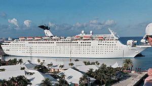 Grand Celebration. Ιδιοκτησία & Διαχείριση: Bahamas Paradise Cruise Line. Celebration 1987 ~ 2008. Grand Celebration 2008 ~ 2014. Costa Celebration μ. Νοέμβριο του 2014. Δεκέμβριος 2014 ~ present, today's name. Παρθενικό ταξίδι στις 14/03/1987. 47.262 GT ~ 223,37 μ.μ. ~ 28,20 μ.πλάτος ~ 10 κατ/τα ~ 21,7 knots ~ 1.896 επ. ~ 670 ατ.πλ.