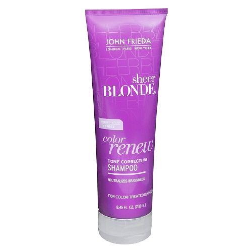 John Frieda Sheer Blonde Color Renew Tone Correcting Shampoo