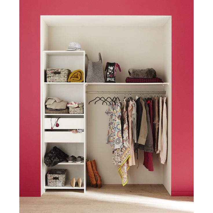 25 Best Ideas About Dressing Blanc On Pinterest Placard Blanc Placard Pax Ikea And Ikea Pax