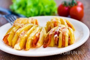 Картофельные ракушки (фото)