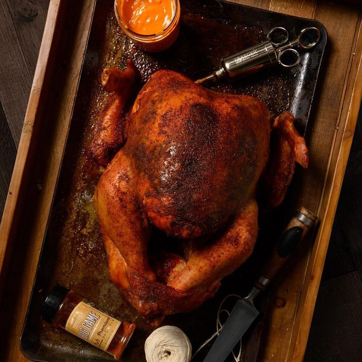 Injected with Creole Butter and smoked over Apple and Pecan, our BBQ Cajun Turkey isn't lacking in flavor or kick. Get our method for the ultimate BBQ bird.