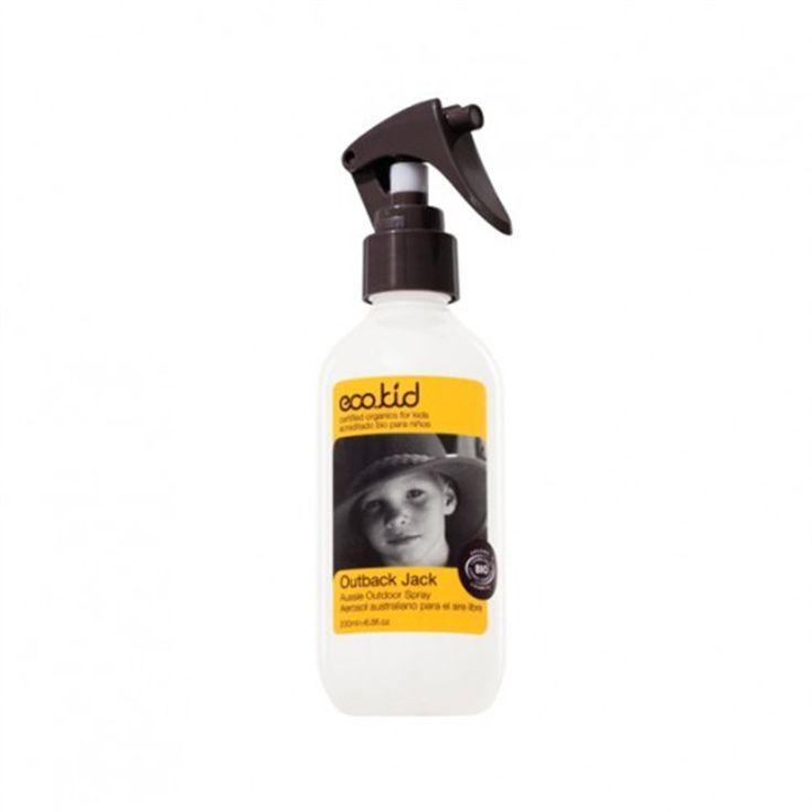 Outback Jack muggenspray en anti-insectenspray Eco.kid