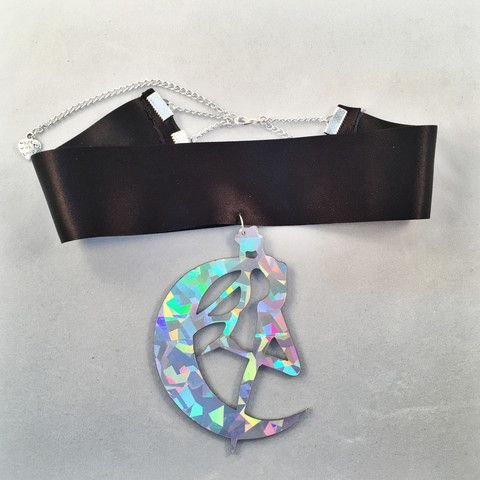 Sailor Moon Choker Holographic - Deer Designs