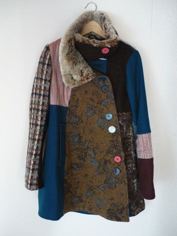 Wintercoat, coat, colours, fake fur, winter.