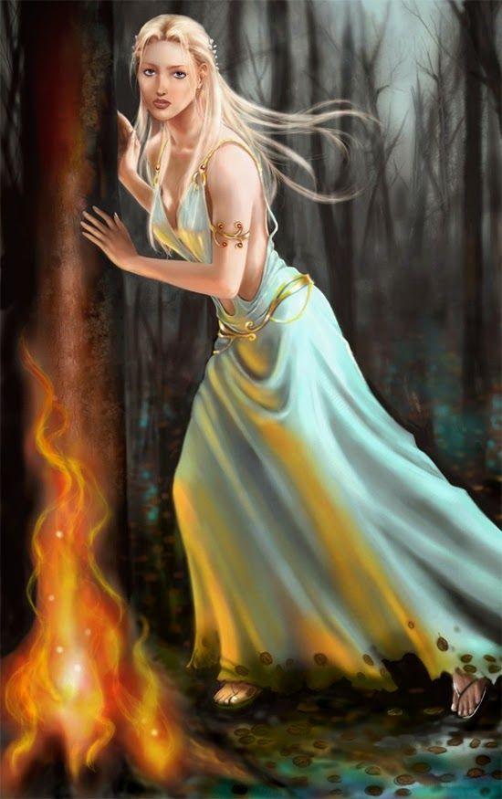 Greek Goddess Calypso Symbol