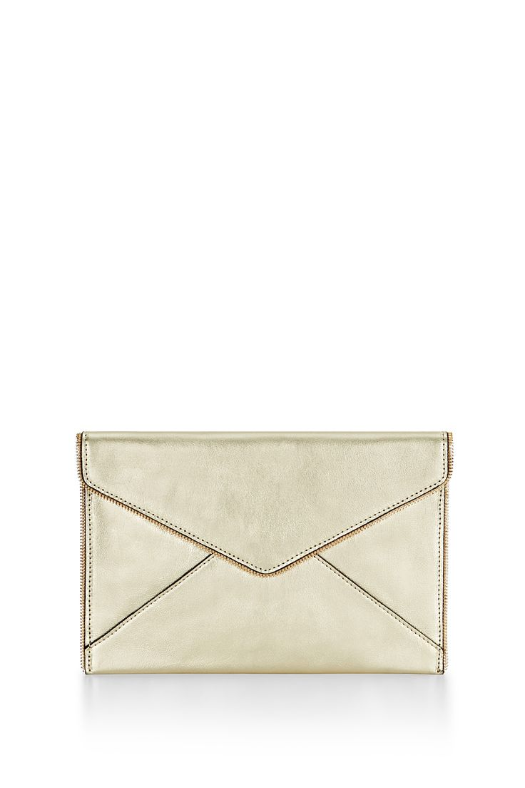 Leather Statement Clutch - Formand Function Amethyst by VIDA VIDA
