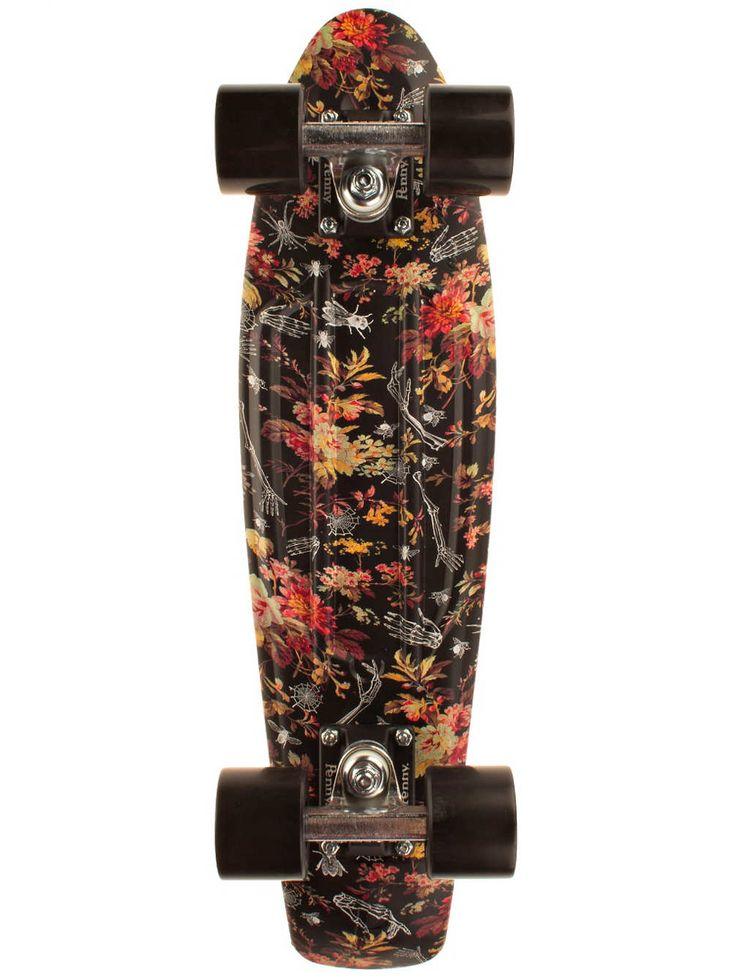 """Achetez Penny Skateboards Graphic 22"""" floral Complete en ligne sur blue-tomato.com"""