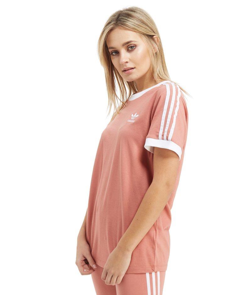 adidas Originals 3-Stripe California T-Shirt - Shop online for adidas Originals 3-Stripe California T-Shirt with JD Sports, the UK's leading sports fashion retailer.