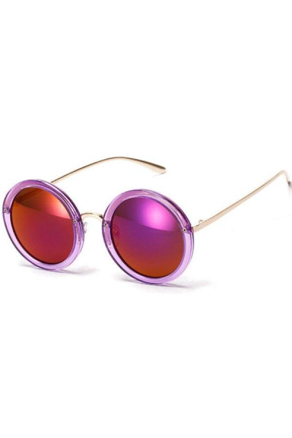 Purple Round Frame Tinted Lenses Aviator Sunglasses @ Womens Sunglasses,Womens Eyewear,Sunglasses,Eye Wear,Discount Sunglasses,Fashion Womens Sunglasses,Cheap Sunglasses,Best Sunglasses,Ladies Sunglasses,Latest Fashion Sunglasses for Sale