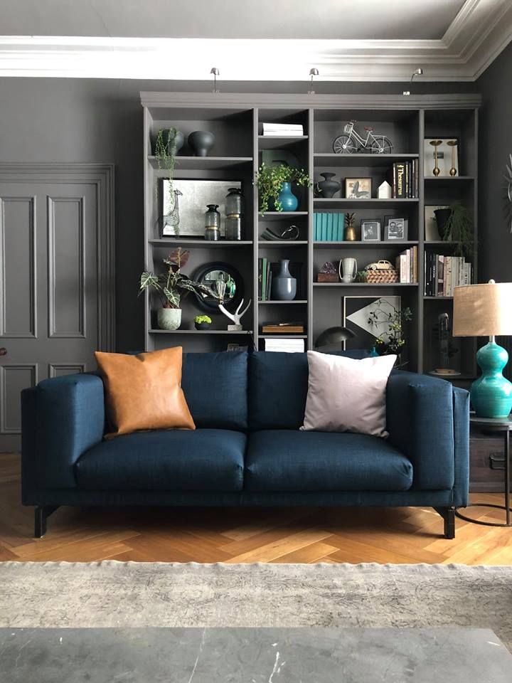 Magnificent Ikea Nockeby Sofa In Kino Navy Navy Blue Couch Slipcovers Pdpeps Interior Chair Design Pdpepsorg