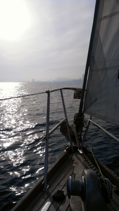 Prowing the Med in winter