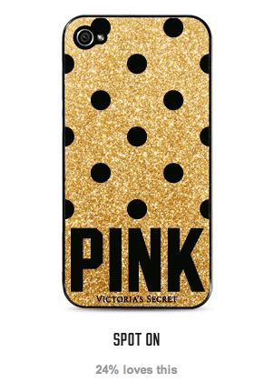 GIRLS! Go to Victorias Secret's website and vote for this phone case, it's so cute and you can get it for free if it wins! (With a purchase, but still) :) #diefor #victoriassecret #polkadots #vote