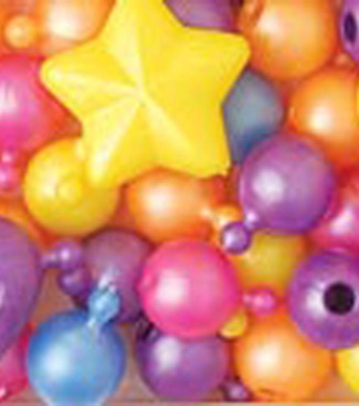 Pop Beads/Charm Pop Beads 12mm & 25mm 113 Grams/Pk - Pearl Multi