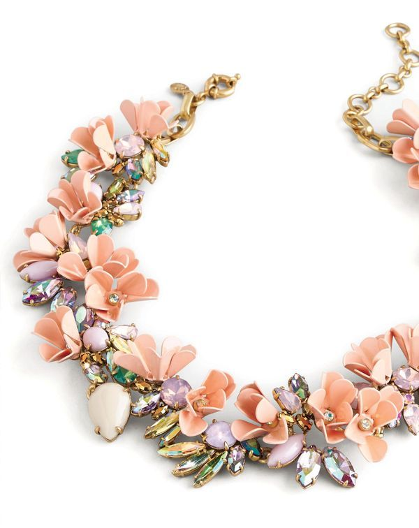 We love J.Crew's playfully bold Mardi Gras necklace. Bejeweled | Women's Jewelry | Galleria Dallas