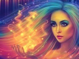 3D Abstract Aurora