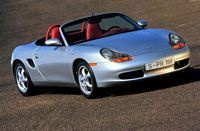 1997 Porsche Boxster. I drove an automatic version of this. Not only was it so slow it couldn't pass wind, but I felt as though I'd accidentally sat inside a gay bar.