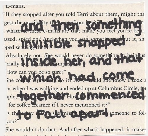 John Green Quote.   And that's how it happened
