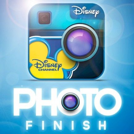 Funny Photo Editing with Disney Channel Photo Finish App