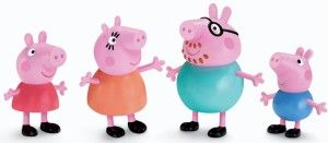 Toys For 4 yr Old Girls: Fisher-Price Peppa and Family Add to your Peppa collection. All are wearing outfits straight from the show. All figures are articulated.