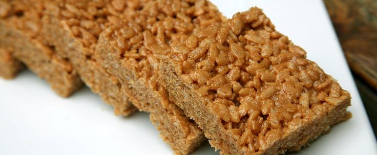 6-Ingredient Marshmallow-Free Rice Krispies Treats