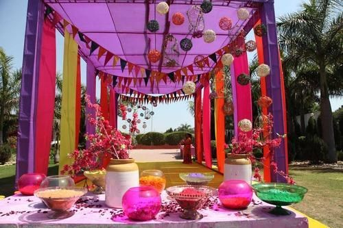 Holi Party Decoration Service