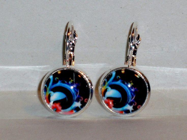 Ohrringe - Ohrringe Stern Fantasie Schmuck Ohrschmuck Damen - ein Designerstück von ausgefallene-Ohrringe bei DaWanda