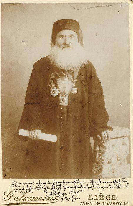 Armenian Bishop 1890