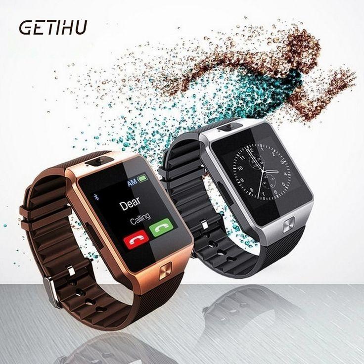 U8 smartwatch dz09 teléfono inteligente inteligente sport sim electrónica digital reloj de pulsera reloj con los hombres para dispositivos portátiles de apple android